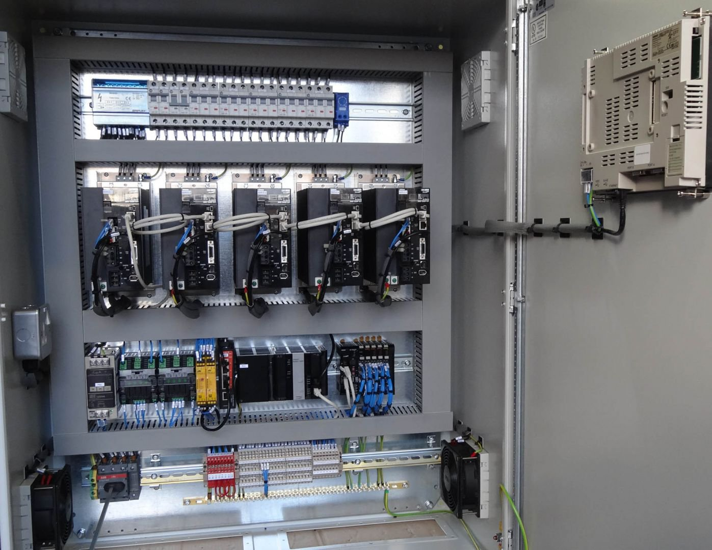 Control Panel at Amcor Portugal