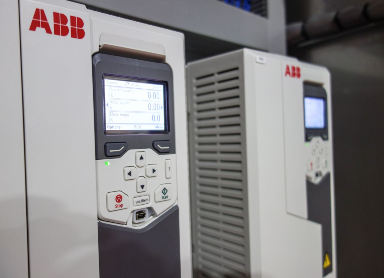 Variable speed drives by ABB