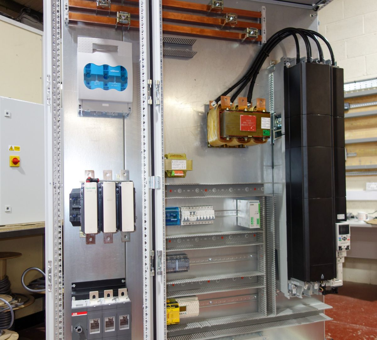 Wohner busbar systems for electrical control units