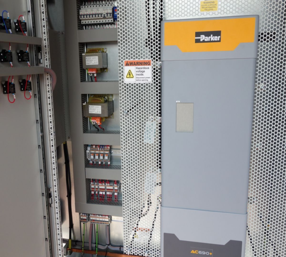 Control panels for extrusion applications