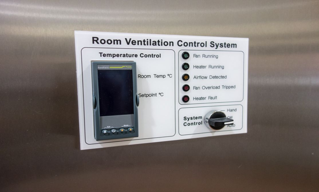 Temperature control solutions for a heated container
