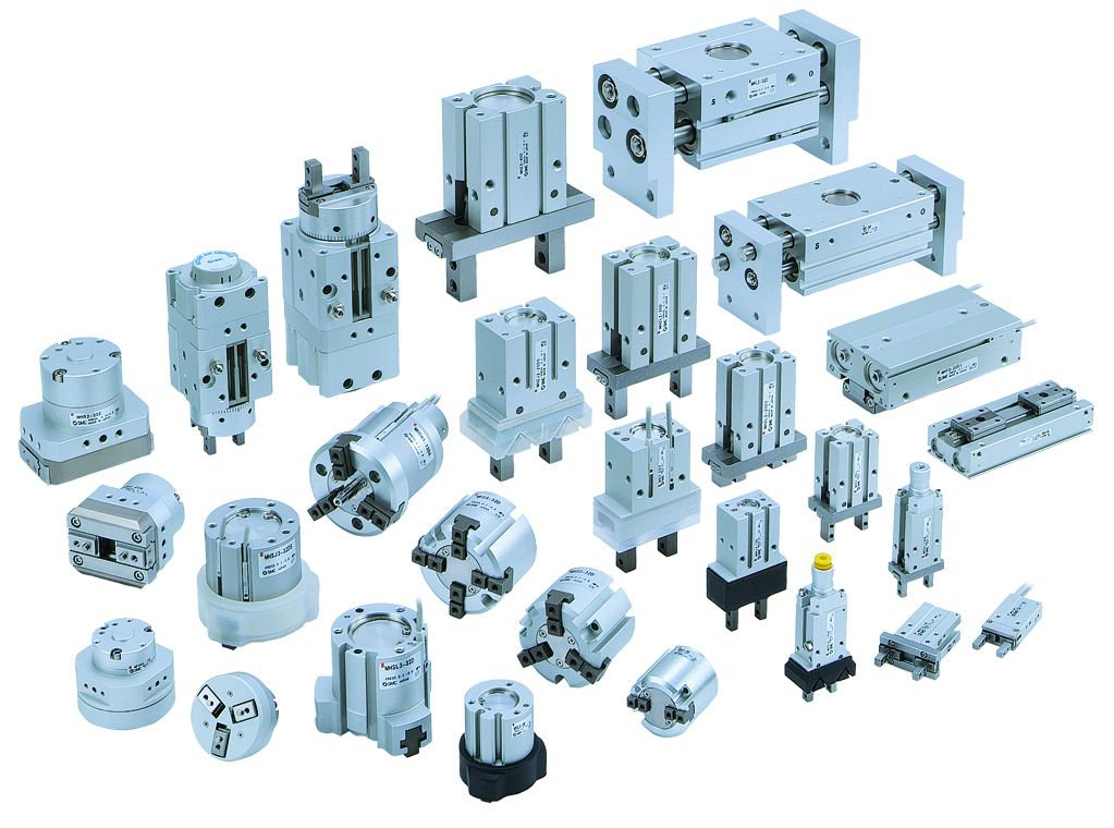 View The Smc Pneumatics Range From Axis Controls