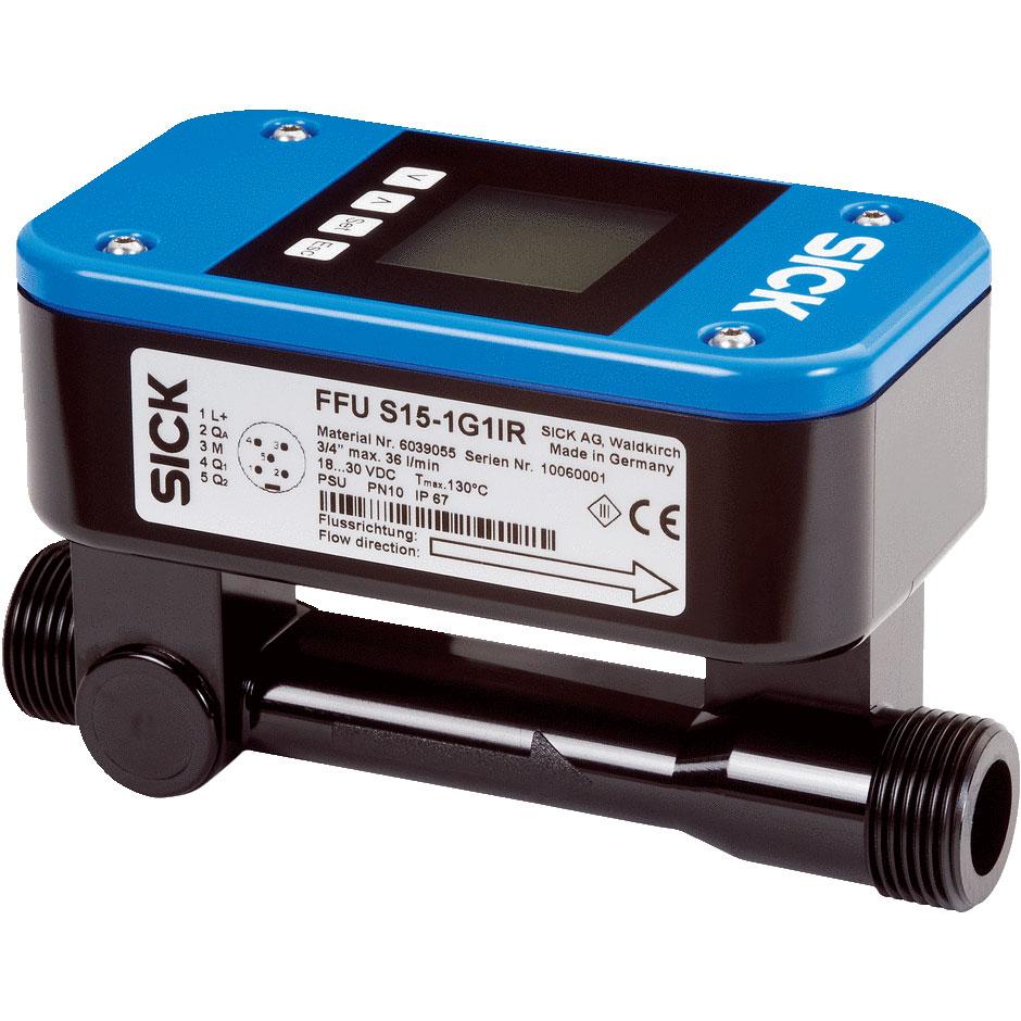 Sick NW10 Ultrasonic Flow Sensor 21 Litres / Minute