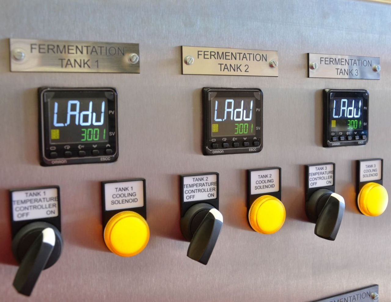 Temperature control solutions for a Brewery