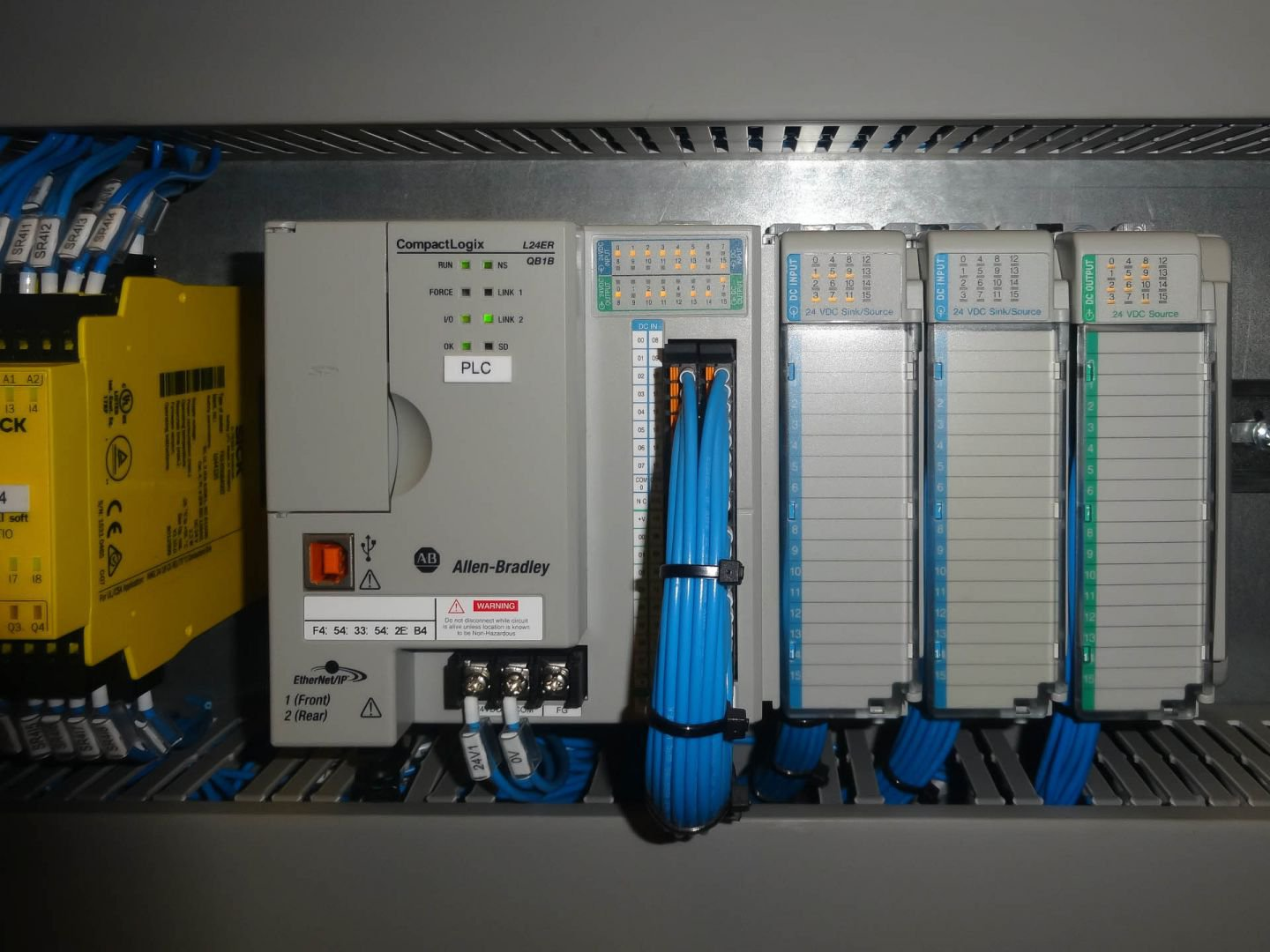 Allen-Bradley PLC systems integrated by Axis Controls