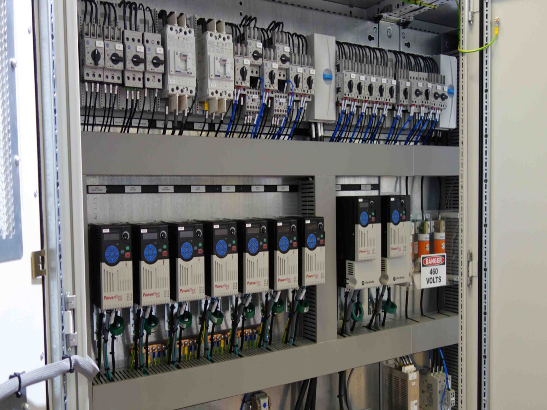 Axis Controls build control panels using UL508a components