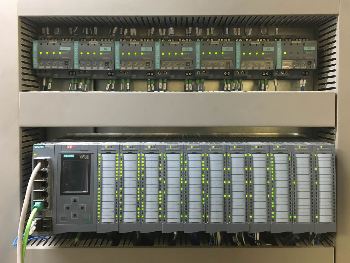 PLC systems by Siemens