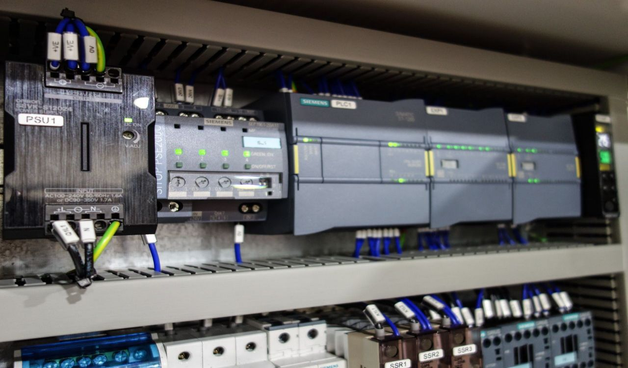 Axis Controls stock PLC systems by Siemens
