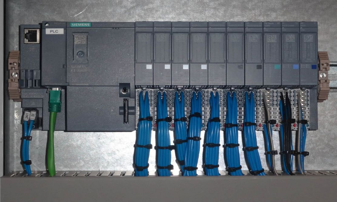 Siemens PLCs for control panel applications