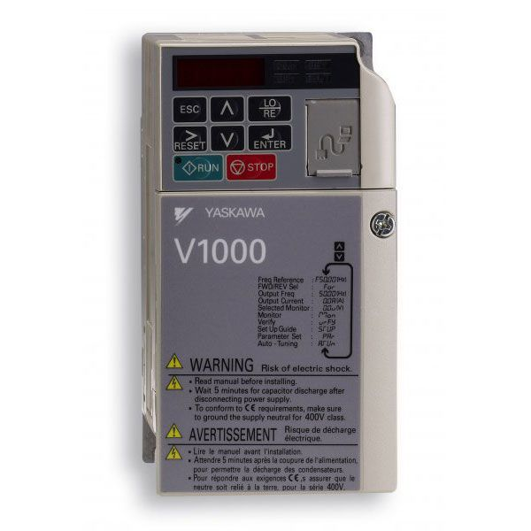 Yaskawa V1000 Inverter 0.75 kW 230V