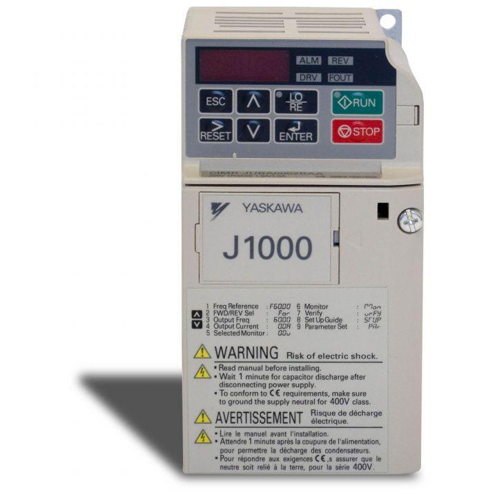 Yaskawa J1000 Inverter 0.37kW 230V
